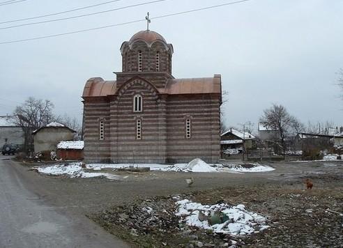 Црква св. Пентелејмона у селу Лепина