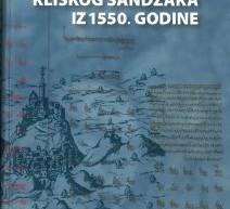 Дигитализована књига: Попис Клишког санџака из 1550. године