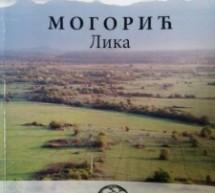 Објављена монографија села Могорић (Лика)