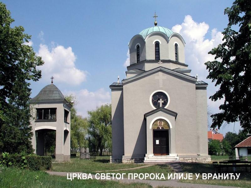 Vranic, crkva sv. Proroka Ilije
