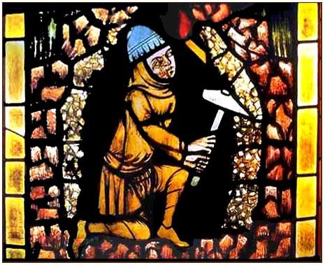 srednjovekovni rudar