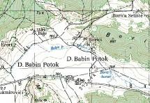 Poreklo prezimena, selo Babin Potok (Vrhovine)