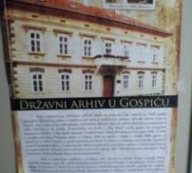 Spisak svih crkvenih knjiga u Državnom arhivu u Gospiću (Lika)