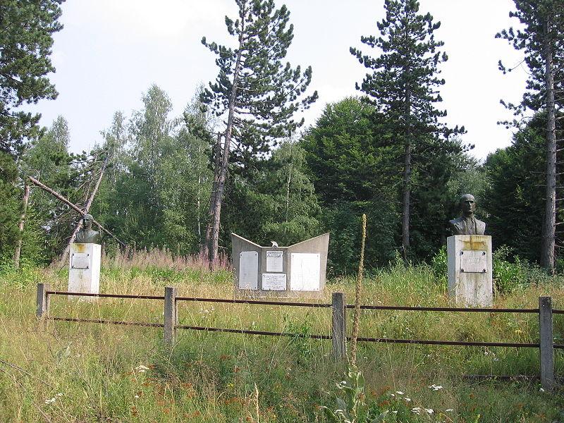 Споменици ратницима у Млачишту и Баинцу погинулим у I и II светском рату