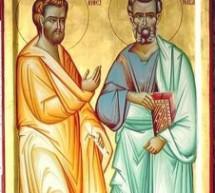 Sveti apostoli Vartolomej i Varnava – Vartolomijevdan