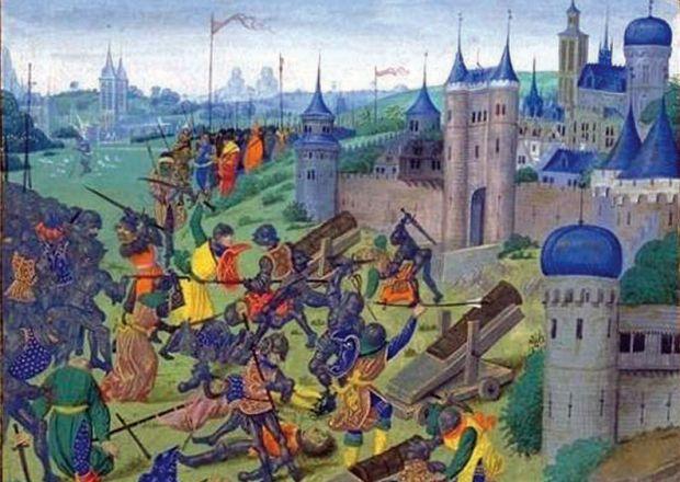 Битка код Никопоља, слика Жана Фројсарта