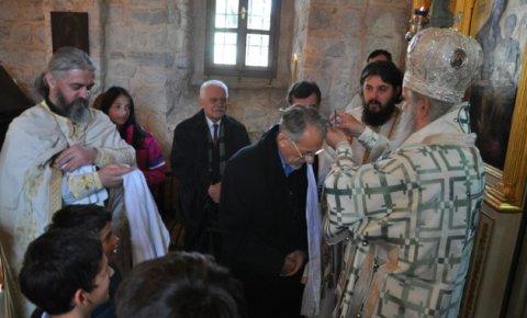 Крштење Махмута Бушатлије