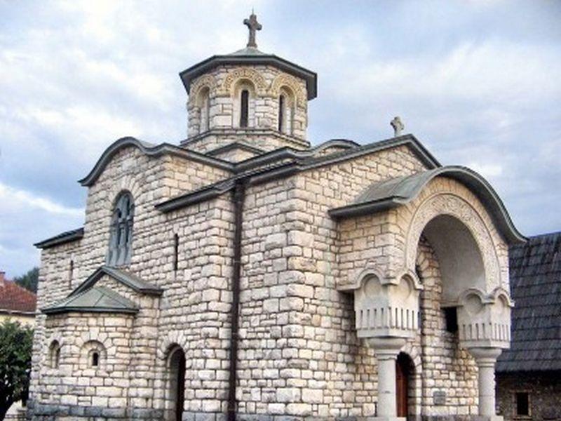 Црква - спомен костурница Вазнесења господњег у Крупњу