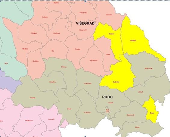 Мапа распрострањености Каркалића