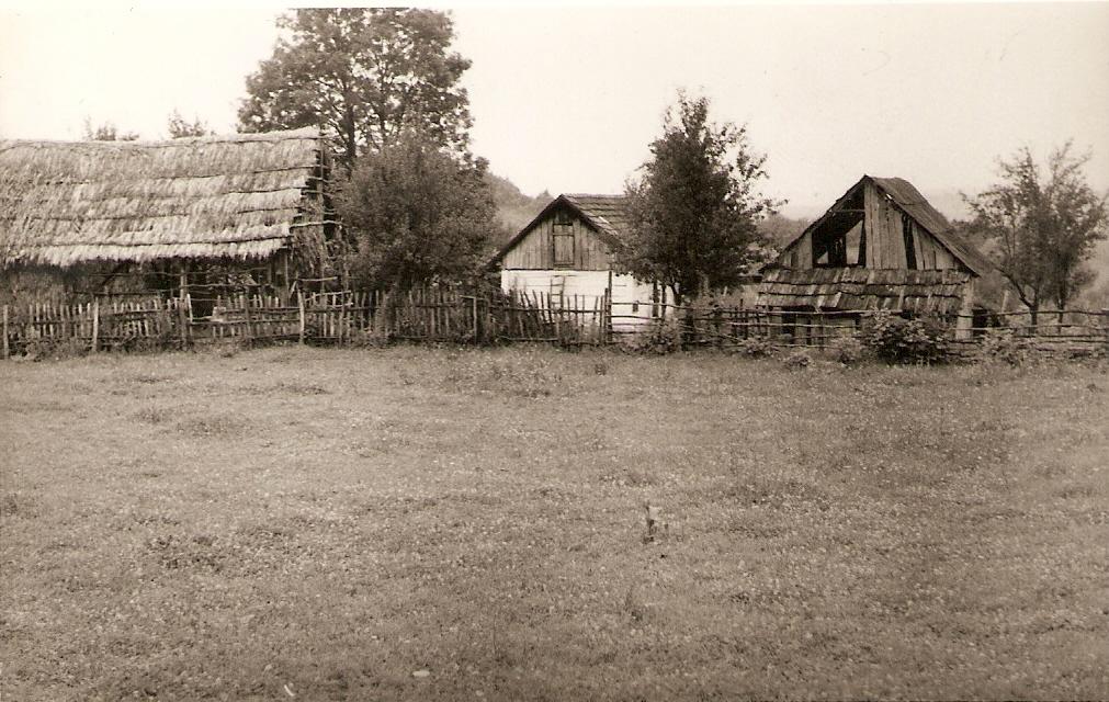 Куће Шикмана у Крндији (Беширевића), снимљене 1972. године