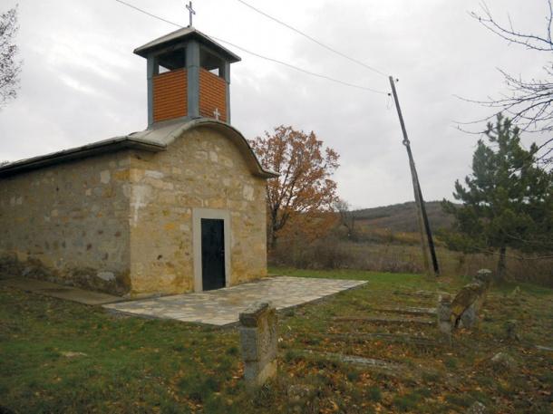 Seoska crkva u Gornjoj Brnjici