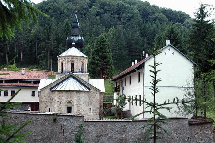 Манастир Троноша, Коренита