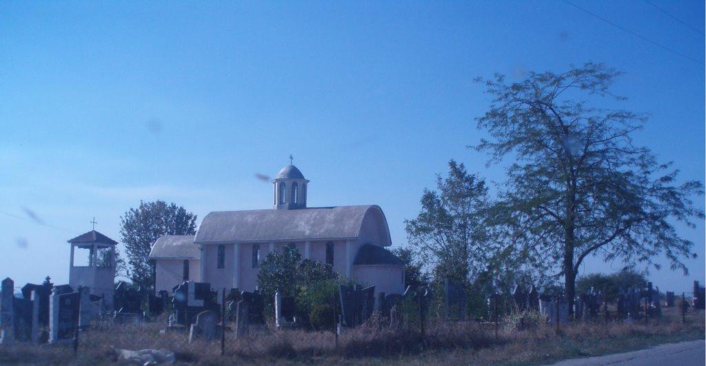 Skulanevo, crkva i groblje