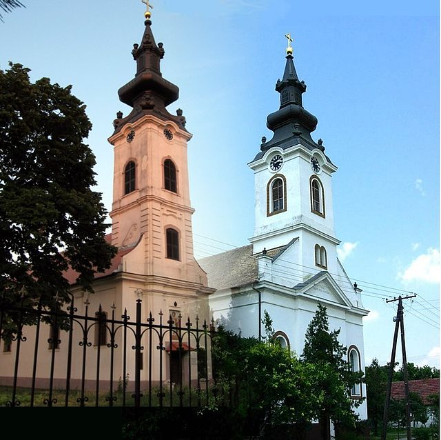 Srpska Pravoslavna crkva i Slovačka Evangelistička A. V. crkva u Silbašu