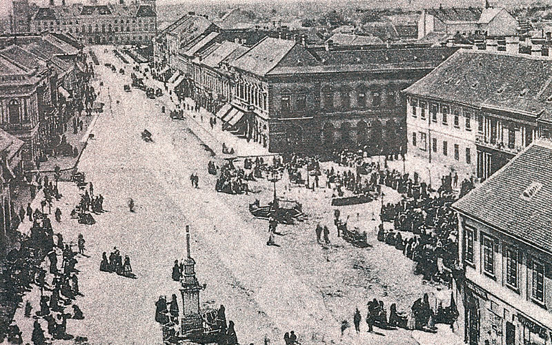 Stari Sombor, trg