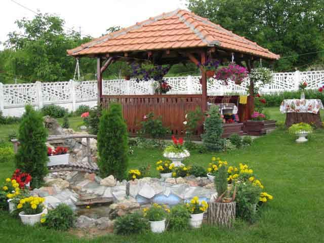 двориште Наде Гавриловић, село Кнежевац