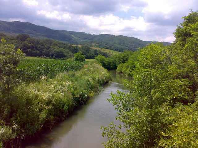 Река Гружа, село Пајсијевић