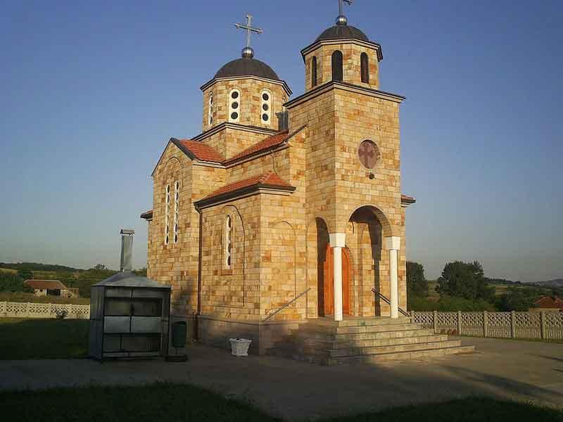 Црква Св. Ђорђа, Црни Као
