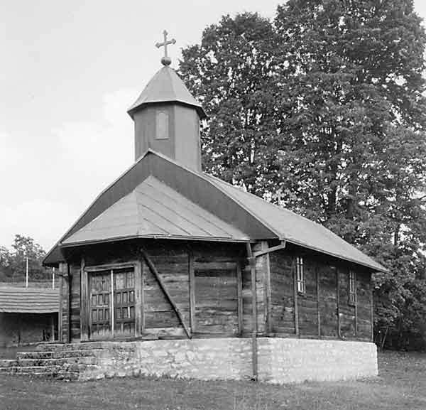 Пајазитово - црква брвнара