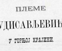 Novo u digitalnoj biblioteci: Pleme Budisavljevića u Gornjoj Krajini