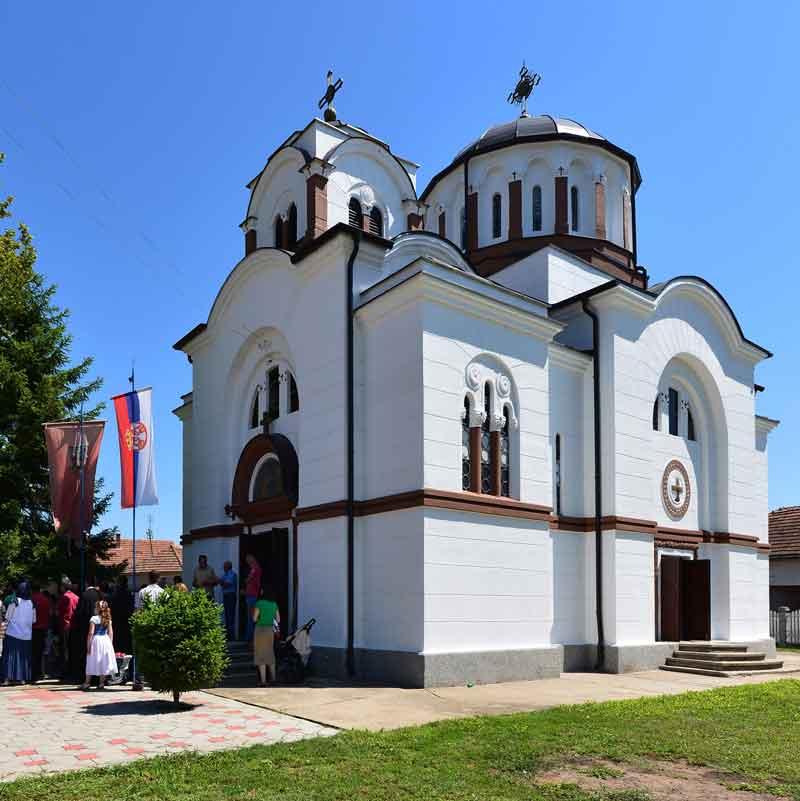 Црква Св. апостола Петра и Павла у Корбову