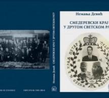 Представљање књиге историчара Немање Девића: Смедеревски крај у Другом светском рату