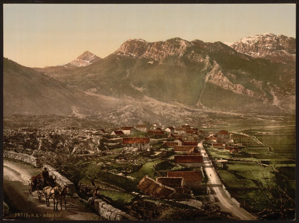 njegusi krajem 19 stoleca