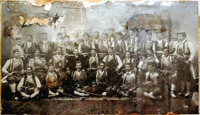 Delegacija Bokelja u Becu 1869