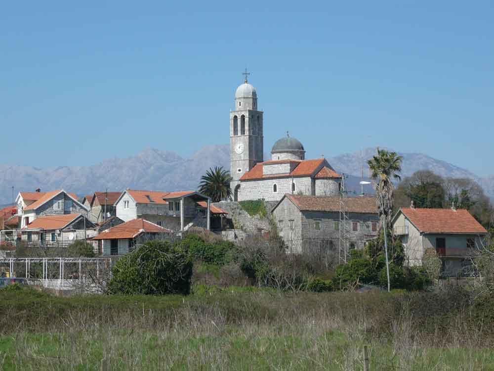 Радовићи, црква Св. Госпође