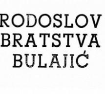 Ново у дигиталној библиотеци: Родослов братства Булајић